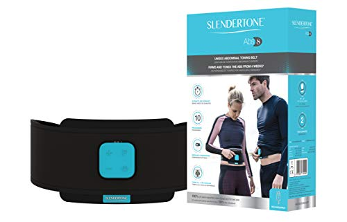 Slendertone Unisex's Abs8 Muscle Stimulation Belt, Black, 24 to 42 inches
