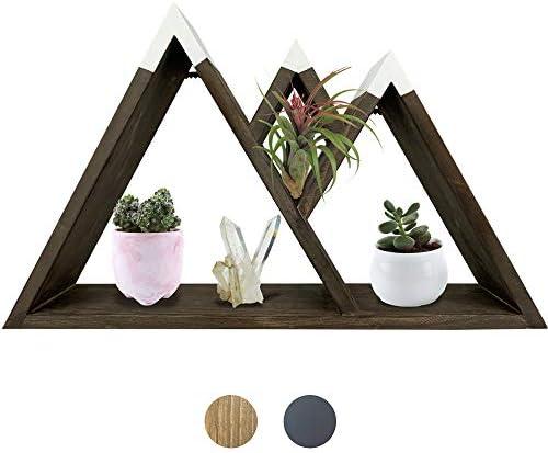Majestic Mountain Floating Shelf Rustic Shelves Wood Shelf for Mountain Decor Cabin Decor Woodland product image