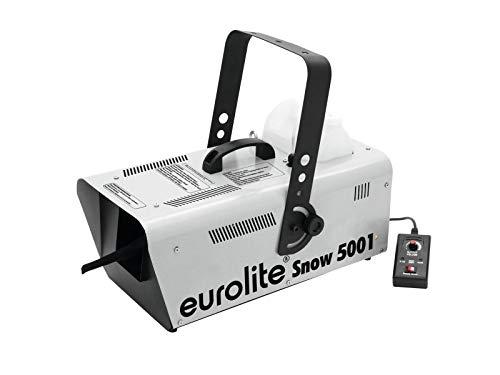 Eurolite Snow 5001 Schneemaschine   Schneemaschine mittlerer Größe mit Kabelfernbedienung