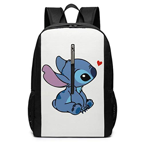 Backpack 17 Inch, Stitch Large Laptop Bag Travel Hiking Daypack for Men Women School Work