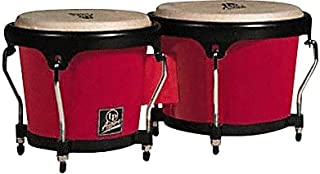 Latin Percussion LPA601F-RD LP Aspire Fiberglass Bongos - Red/Black