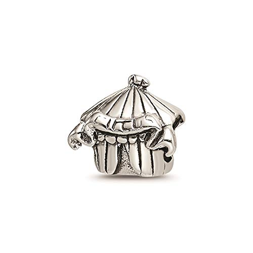 925 Sterling Silver Charm For Bracelet Kids Circus Tent Bead Kid Line Fine Jewellery For Women Gifts For Her