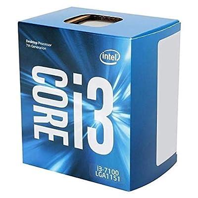 Intel Core I3-7100 3.90 GHz CPU - Black