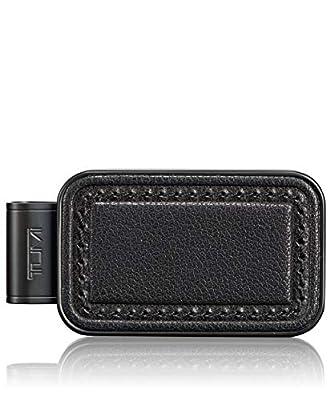 TUMI - Nassau Monogram Patch Money Clip Wallet with RFID ID Lock for Men - Black