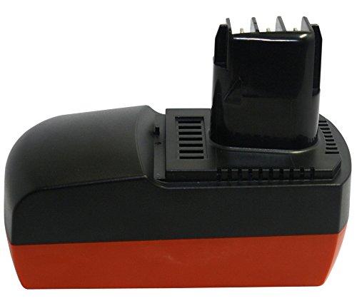 PowerSmart® 18V Ni-MH 3000mAh Ersat Akku für METABO BSZ 18, KSA P18, 6.25477,BSZ 18 Impuls, ULA 9.6-18, 6.25478