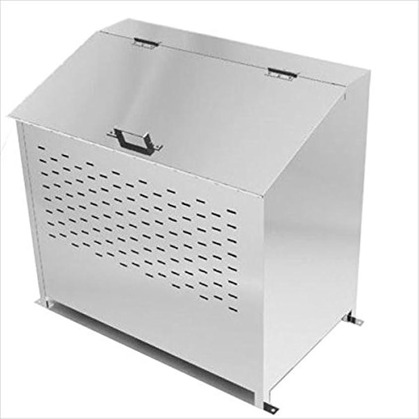 ルーキーチョークのヒープグリーンライフ ステンレスダストボックス 『完成品』 『ゴミ収集庫』『ダストボックス ゴミステーション 屋外』『ゴミ袋(45L)集積目安 8袋、世帯数目安 4世帯』 DB360L