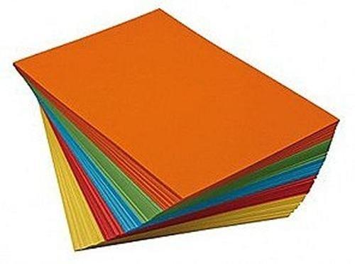 Paquete de papel de colores Sg Educación EV PP660B, tamaño A3, 80g/m², 50hojas