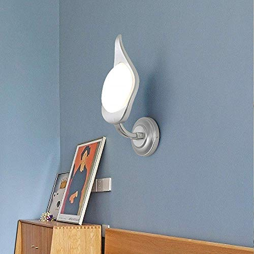 Lantaarn wandlamp kristal spiegel verlichting moderne verlichting LED acryl wandlamp creatieve verlichting bedlampje kandelaar persoonlijkheid Art S Lumière Argentée