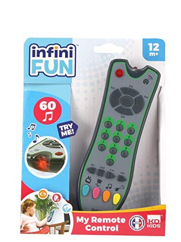 Tech Too DES0884 Kinderspielzeug Fernbedienung, authentische Spielzeugfernbedienung mit Licht und Sound, originalgetreu, Kinderfernbedienung