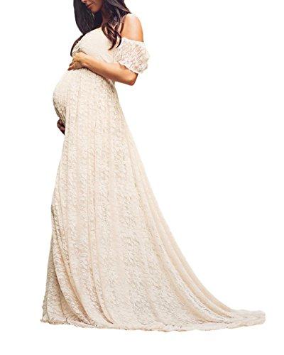 Vestido Premama Mujer Elegantes Fiesta Vestidos De Novia Mode De Marca Talla...