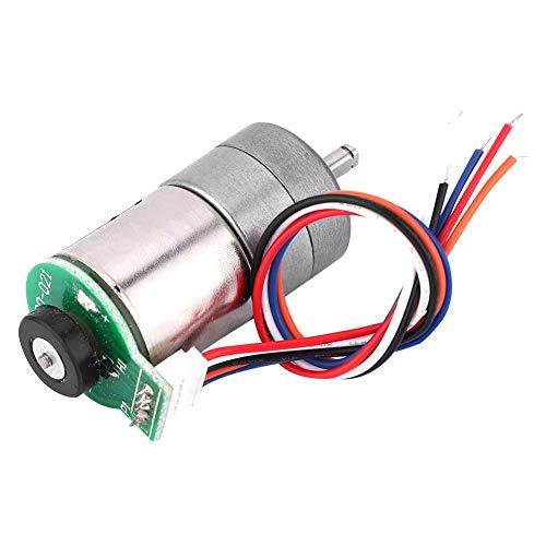 Motoriduttore leggero, rame del motoriduttore del metallo dell'encoder di CC 12V di 50mA 1A