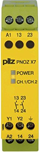 Pilz Not-Aus-Schaltgerät PNOZ X7#774056 230VAC 2n/o PNOZ X Gerät zur Überwachung von sicherheitsgerichteten Stromkreisen 4046548012330