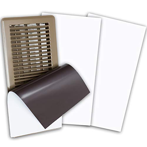 Eureka Air High Strength Magnetic Vent Cover 3 Pack (8' X 15.5') for Floor, Wall and Ceiling Registers, Home and RV, HVAC and AC