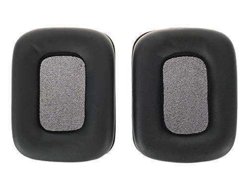 2 Ersatz Ohrpolster für Mad Catz Tritton Kunai Stereo Headset, Schwarz