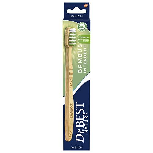 Dr.Best Nature Bambus Interdent Zahnbürste, weich (1 Stück)