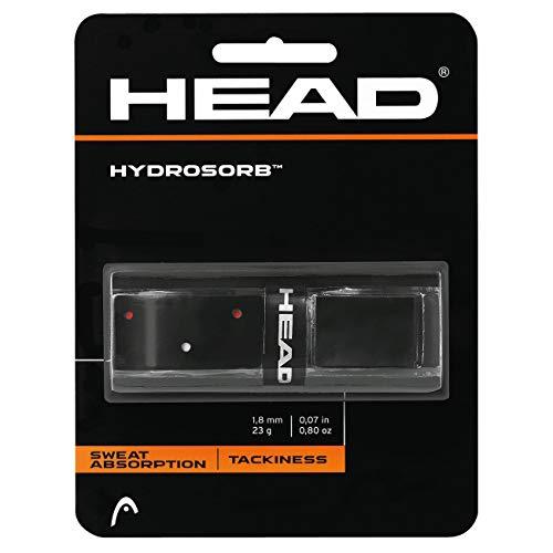 Head Hydrosorb Grip, Unisex, Negro/Rojo, Talla Única