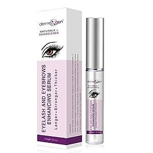 Dermaxgen Eyelash Growth Serum- Pure Organic - Enhancement For Longer, Fuller & Thicker Lashes And Eyebrows