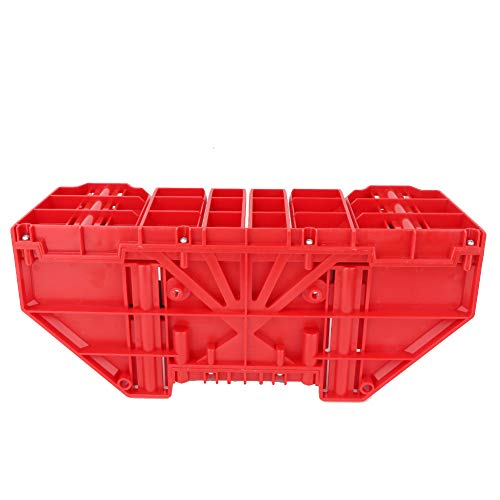 El gabinete de la sierra del inglete, caja roja de la ingleta, multifuncional de alta resistencia plástica de la ingeniería del ABS para la
