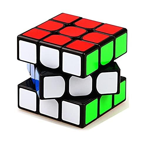 iLink- Original Speed Cube Cubo mágico clásico de 56 mm Duradero, Rompecabezas 3D Profesional rápido para Todas Las Edades, Multicolor (shengshou B07F6Y99KJ)