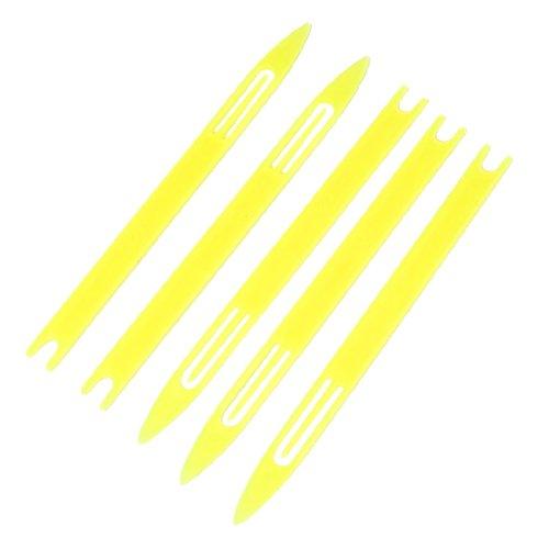 sourcingmap® 5 Stück 3#Repair Strick Netz-Nadel Shuttle Fisch Tackle 13.21 cm lang DE de