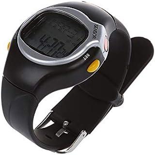 LINGJIA Pulsómetros Nuevo Monitor De Frecuencia Cardíaca Calorías Contador Fitness Reloj De Muñeca Negro