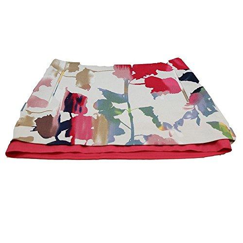 Diane von Furstenberg New DVF Rainbow Garden Elley Mini Skirt W 2 Pockets (6)
