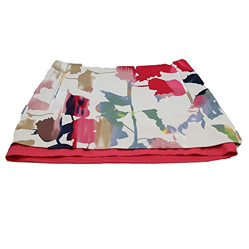 Diane von Furstenberg New DVF Rainbow Garden Elley Mini Skirt W 2 Pockets (6)