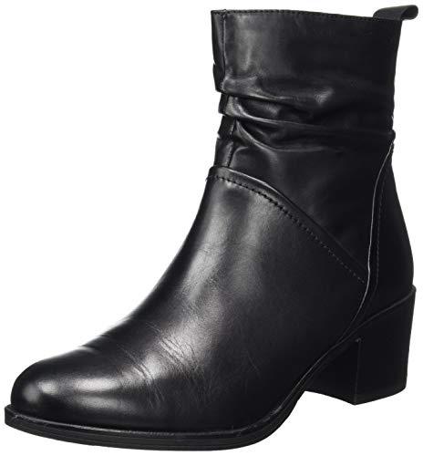CAPRICE Damen 9-9-25356-25 Stiefelette, Black Nappa, 39 EU