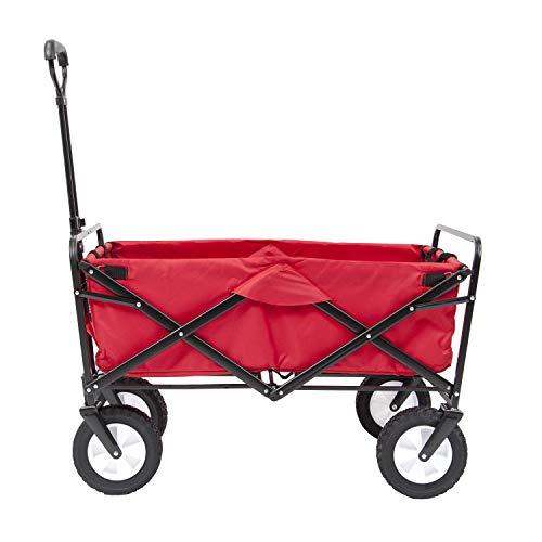 Ak Sport - 0737005 - Remorque - Chariot Pliable - Rouge