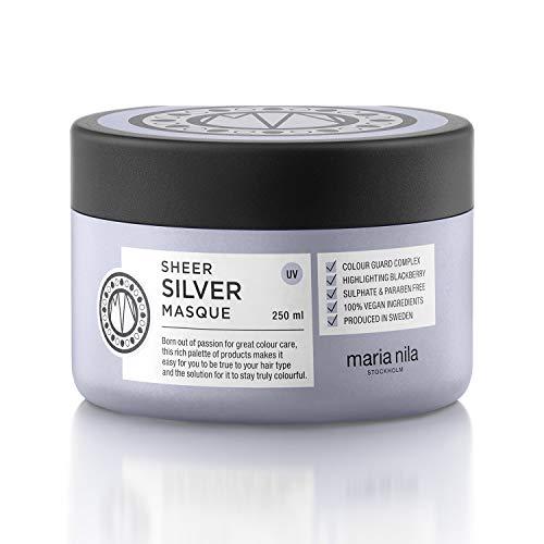 Maria Nila Care & Style - Sheer Silver Masque 250ml | Intensive Haarmaske für blondes Haar