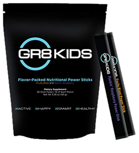 BEpic - GR8 Kids - Flavor-Packed Nutritional Power Sticks - Fruity Blast and Rockin