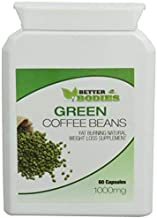 Better Bodies 1000 mg Green Coffee Bean Extract Per Capsule Estimated Price : £ 9,95
