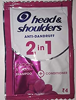 Head & Shoulders Smooth and Silky Shampoo, 7ml Sachet - Pack of 32