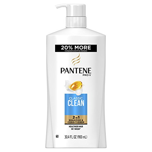 Pantene Pro-V Classic Clean 2In1 Shampoo & Conditioner, 30.4 fl oz (Packaging May Vary)