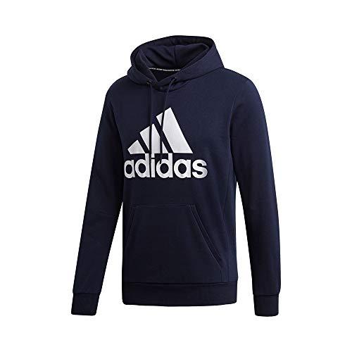 adidas Herren MH BOS PO FT Sweatshirt, Legend Ink/White, L
