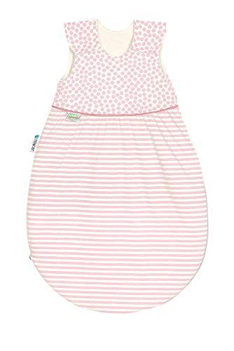 Set Odenwälder BabyNest Klimasoft Schlafsack & Windel Blaubaer | Schlafsack Baby Baumwolle & Sommerschlafsack für Jungen und Mädchen ohne Ärmel | leichter mitwachsender Schlafsack pflegeleicht
