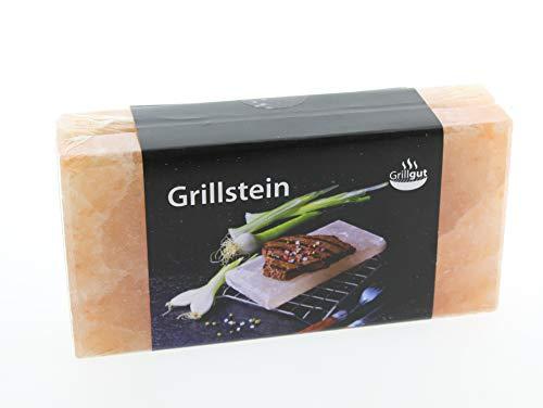 KMC Austria Design Premium XL Salzstein zum Grillen (2er Pack) – Hochwertiger BBQ Salz Grillstein für einen besonderen Geschmack – Original Salzplatte zum Grillen