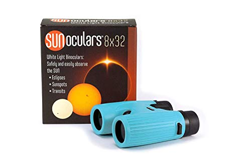 Best Price! Lunt Solar Systems - Blue 8x32 Magnification Sunoculars, Compact & Portable White Light ...