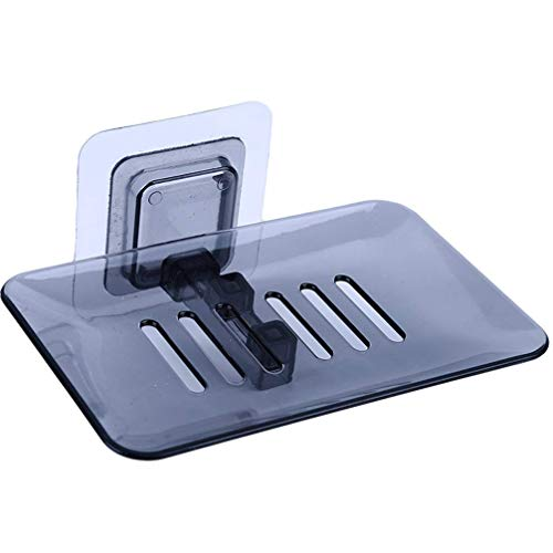 Caja de jabón accesorios de baño Jabonera ventosa cesta de almacenamiento jabón...