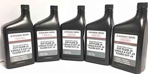Filter And Fluid Service KIT - CVT Transmission Includes J4 Fluid (5 Quarts) and Exterior FILTER & O-ring. MZ320185 2824A006 Genuine Mitsubishi Parts! Lancer, Outlander, Outlander Sport