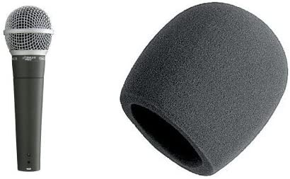 Pyle-Pro PDMIC58 Two depot Pack Foam Spring new work Bundle Windscreen With