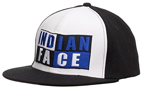 The Indian Face Gorra Santa Cruz, Adultos Unisex, Negra y Blanca, Talla Única