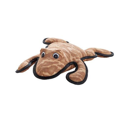 TOUGH BRISBANE Hundespielzeug, Kuscheln, Spielen, 30 cm, Frosch