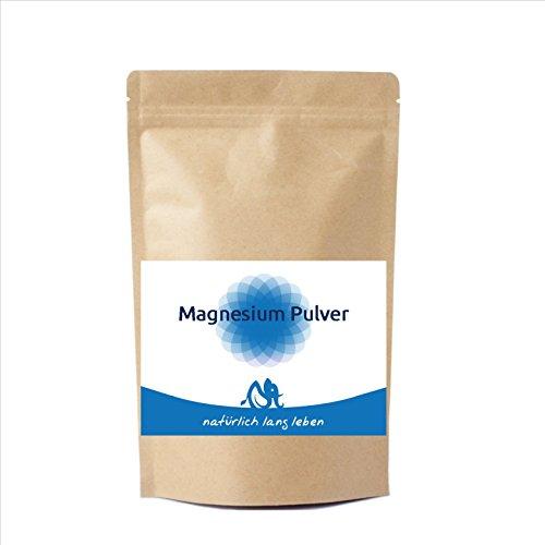 Magnesium Pulver 200 g, reines Magnesiumcitrat ohne Zusatzstoffe oder Hilfsmittel wie Magnesiumstearat