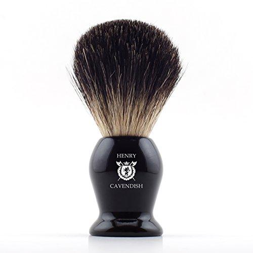 Henry Cavendish Gentleman's 100% Pure Badger Hair Shaving Brush.