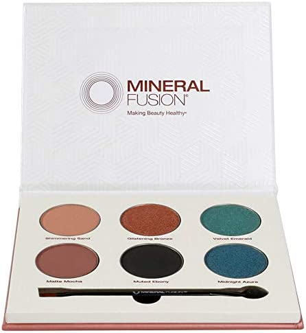 Mineral Fusion Limited Edition Velvet Eye Shadow Palette 1 count multi colors product image