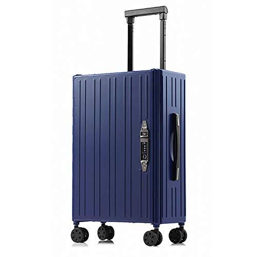 Foldable Luggage Trolley Folds, Blue for Easy Storage