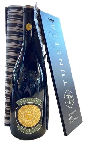 TUNELLA BIANCOSESTO Vino bianco MAGNUM LT 1,5 CASSA LEGNO (Friulano e Ribolla Gialla)