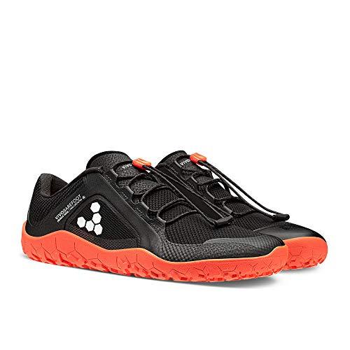 Vivobarefoot Womens Primus Trail FG Textile Synthetic Black Molten Lava Trainers 9 US