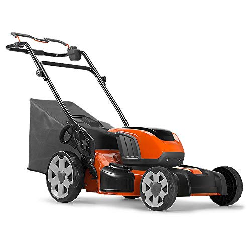 Husqvarna 967820502 LE221R Self-Propelled Battery Lawn Mower, Orange